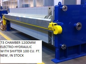 Electro-Hydraulic Sidebar Filter Press