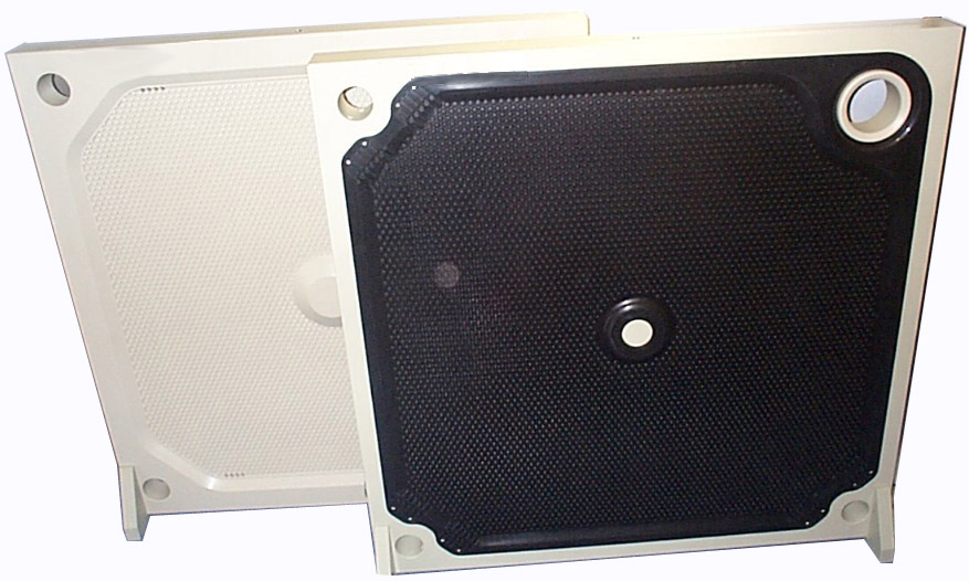 Membrane Corner Feed Filter Plate