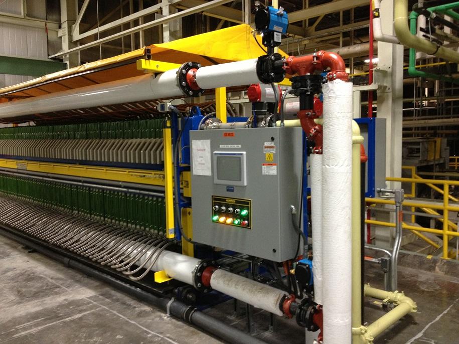 Vacuum Filter Press