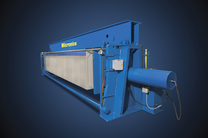 Overhead Beam Filter Press