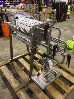 Steel Clad Filter Press