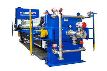 What Are the Key Parts of a Filter Press Used in Liquid/Solid Separation?