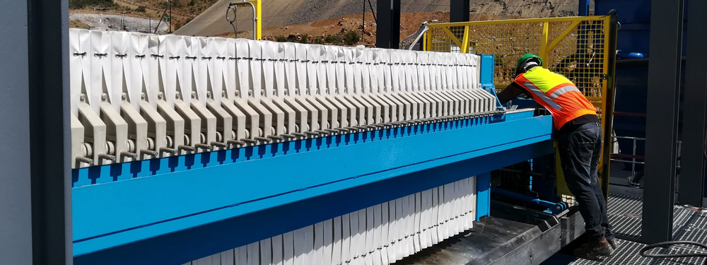 1200mm Chromium Mine Filter Press