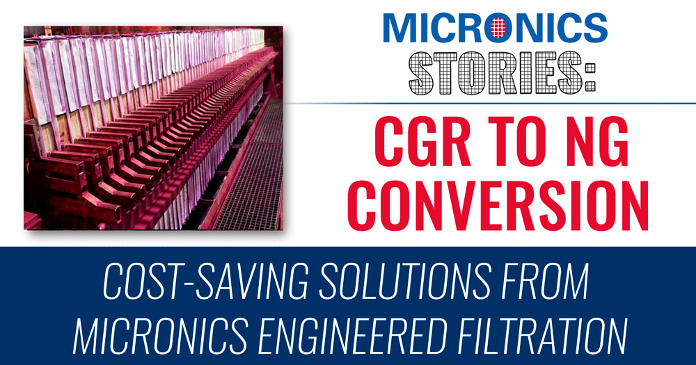 Micronics CGR to NG Conversion