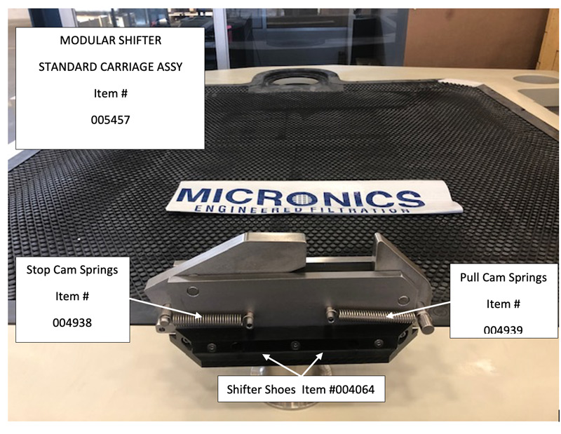 Micronics Part Numbers