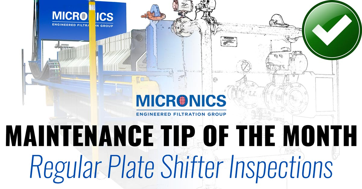 Plate Shifter Inspection