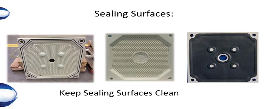 Keep Sealing Surfaces Clean