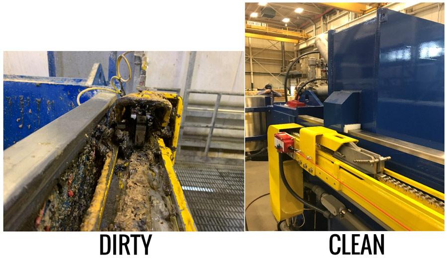 Dirty vs Clean Filter Press 2