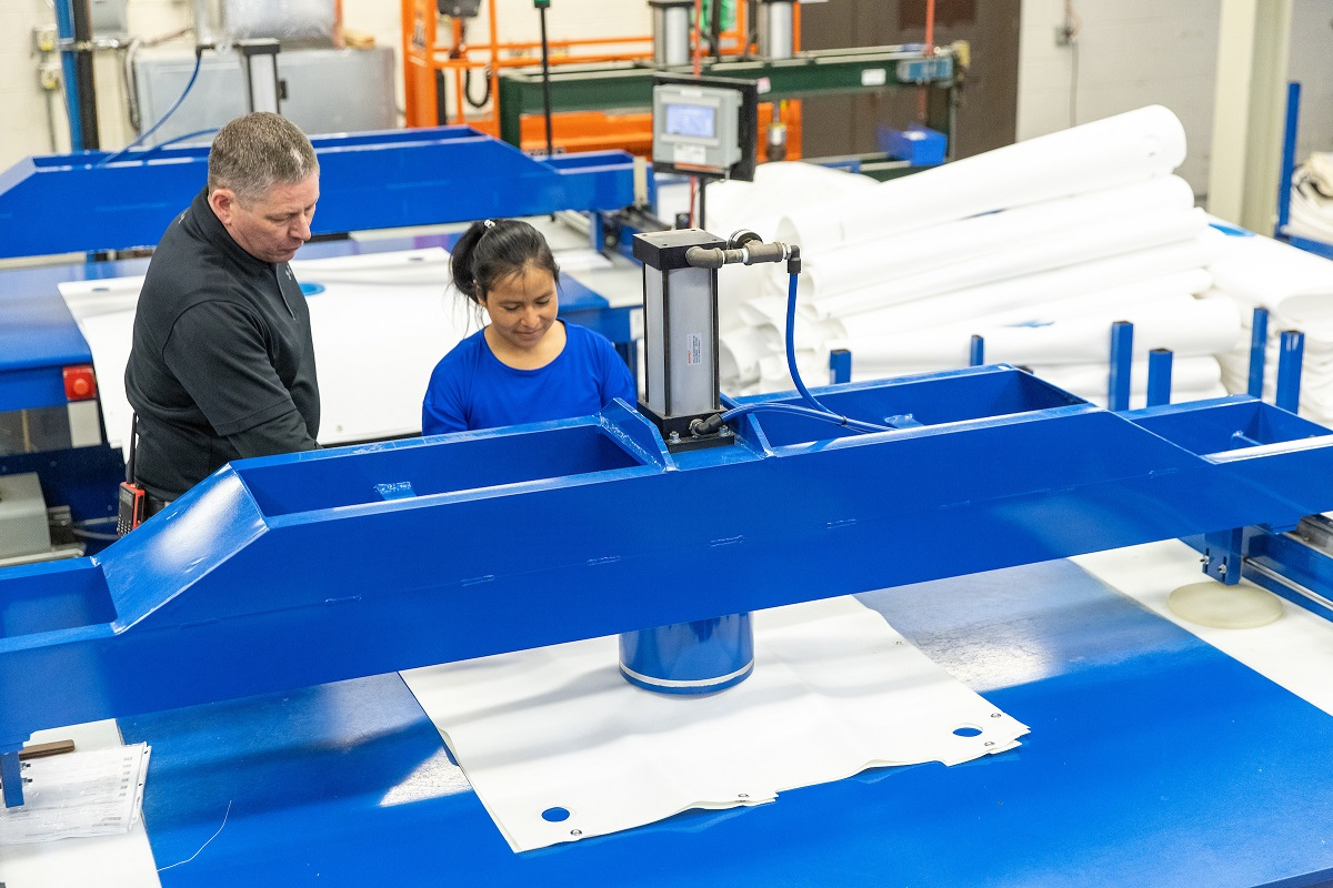 Micronics' HPR Feed Neck Design Improves Filter Press Cloth Performance